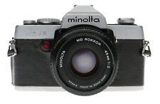 Minolta XG-1 35mm Film SLR Camera 1:2/45 Early Model
