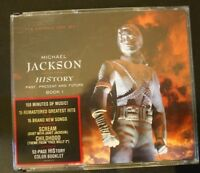 HISTORY: Past, Present and Future, Book I by Michael Jackson (CD, Jun-1995, 2 CD