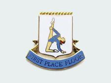 First Place Floor Gymnastics Award Lapel Pin - Great Job!