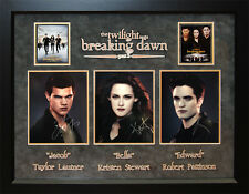 Twilight – Breaking Dawn 2 Signed Cast Poster, AUTOGRAPHED MEMORABILIA autograph