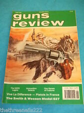 GUNS REVIEW - PISTOLS IN FRANCE - JUNE 1990 VOL 30 # 6