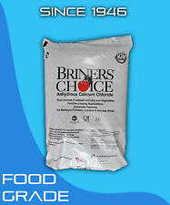 Calcium Chloride Anhydrous 5 lb Food Grade Kosher High Purity Granular Clear Bag