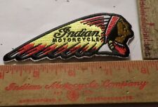 Vintage Indian Chief patch motorcycle collectible old USA biker vest memorabilia