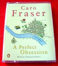 Caro Fraser A Perfect Obsession Caper Court 2-Tape Audio Book Nathaniel Parker