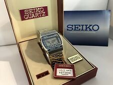 Seiko A239-502A Hora Mundial Cronógrafo Alarma Cuarzo Reloj Led Lcd 2