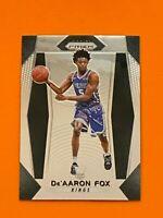 2017-18 Panini Prizm De'Aaron Fox Rookie  RC Sacramento Kings #24