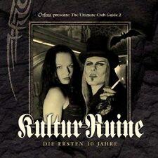 KULTUR RUINE Die Ersten 10 Jahre - 2CD (ASP, Unheilig, Faun, VNV,..)