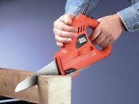 Scorpion Electric Power Saw Cutting Wood Metal Plastic Reciprocating Hand Tool