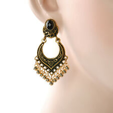 Stylish Gold/silver Women Plated Tassel Drop Dangle Earrings Jhumka Jewelry Hot Gold