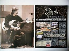 COUPURE DE PRESSE-CLIPPING :  OPETH [7pages] 2011 Mikael Akerfeld,Heritage