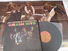 Jimi Hendrix 1968 riginal_1st Press_ Smash Hits_2-Tone Lp_Shrink_Poster_Ex