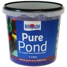 Bermuda Pure Pond Water Clarifier, 1 Litre - Ideal For Ponds Up To 20,000 Litres