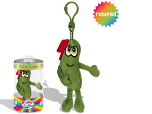 NEW-RETIRED WHIFFER SNIFFERS-DILLY YO-PICKLE SCENTED-BACKPACK/ PURSE/ KEY CLIP