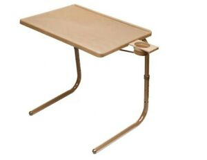 Table Mate II Original Folding TV Tray (Mocha) and Cup Holder