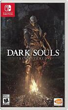 Dark Souls Remastered - Nintendo Switch Game [NTSC, Souls Universe, Fantasy] NEW