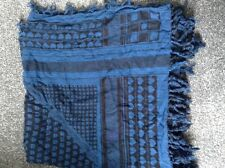Womens / Ladies H & M Blue Patterned Scarf