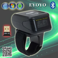 Mini Wireless Bluetooth Barcode Scanner Reader Decoder Fr POS Computer Phone Pad