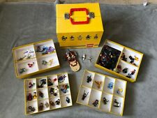 LEGO STORE & CARRY CASE + 50 MINIFIGURES - STAR WARS - MARVEL - DC - PERSIA -