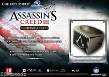 RARE Assassins Creed III Ring from Freedom Limited Collectors European Edition