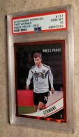2018 Panini Donruss Red Press Proof Timo Werner PSA 10 Gem Rookie RC #137💎📈