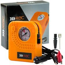 12v Car Motorcycle Motor Bike Compact Mini Tyre Air Compressor Inflator Pump RAC