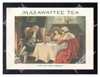 Historic Mazawattee Tea, 1890s. Advertising Postcard 3