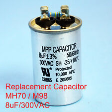 70W Oil filled Capacitor HID MH70 M98 8uF/300VAC ~~UL APPROVED~~