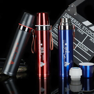 Stainless Steel Vacuum Flask Outdoor Large-capacity Sports Water Coffee Cup HOT