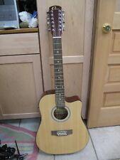 Eleca Acoustic Electric 12 string Guitar