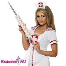 Smiffys Plastic Jumbo Syringe 54cm Nurse Doctor Fancy Dress Costume Accessories