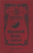 BLACKHEATH RUGBY CLUB, ENGLAND ANNUAL 1934-1935  **RARE**