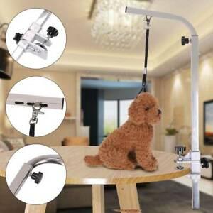 Pet Dog Grooming Table Non Slip Folding Bath Arm Adjustable Desk Bracket UK