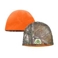 PIONEER SEED *REALTREE XTRA CAMO & Orange BEANIE Stocking Cap L/XL *BRAND NEW*