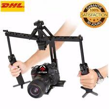 Dual Gimbal Handgrips Handheld Mechanical Stabilizer for Canon / Nikon / GoPro /