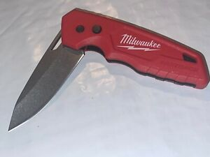 MILWAUKEE FOLDING LOCKBACK KNIFE FASTBACK MODEL 48-22-1520 NICE CONDITION