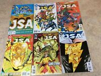 JSA #1,2,3,4,5,6 LOT OF 6 COMIC NM 1999-2000 DC