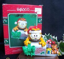 Enesco Ornament  RARE! 1994 Garfield Mine Mine Mine In Box