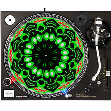 Portable Products Dj Turntable Slipmat 12 inch - High Happy Sugar Skull