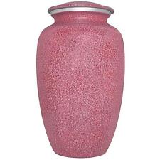 Pink Funeral Urn by Liliane Memorials - Cremation Urn for Human Ashes