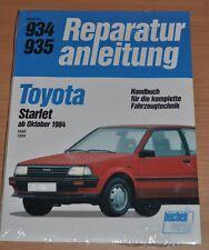 TOYOTA Starlet 1000 1300 EP70 EP71 1E 2E ab1984 OVP Reparaturanleitung B934