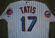 NEW YORK METS FERNANDO TATIS GAME USED WORN JERSEY PATCHES (CARDINALS EXPOS)