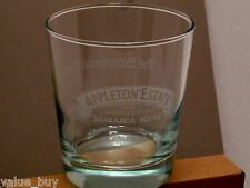 Appleton Estate Jamaica Rum Rock Glass13 oz Etched New Glasses set of 6 in WRAP