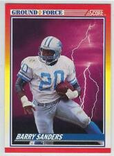 1990 SCORE NFL Football Cards  GROUND FORCE Card #325 BARRY SANDERS.