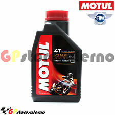 1 LITRO LUBRIFICANTE OLIO MOTORE MOTUL 7100 10W60 4T 100% SINTETICO MOTO