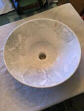 Kohler Artist Edition Empress Bouquet Ceramic Circular Vessel Sink