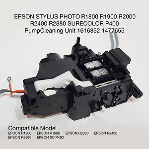 EPSON  R1800 R1900 R2000 R2400 R2880 SURECOLOR P400 Pump Cleaning Unit /Pump Asy
