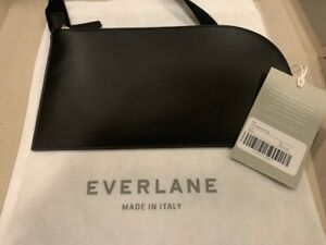 Brand New With Tags - Everlane Black Leather Sling / Purse / Bag - Made in Italy