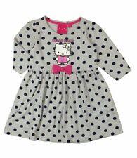 Robes gris à manches longues pour fille de 6 à 7 ans