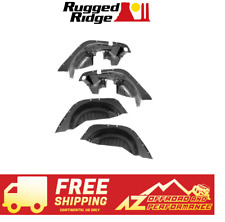 Rugged Ridge Inner Fender Liner 4 Piece Kit 07-18 Jeep Wrangler JK JKU 11620.50