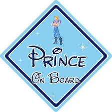 Disney Prince On Board Car Sign – Baby On Board – Pocahontas Prince John Smith